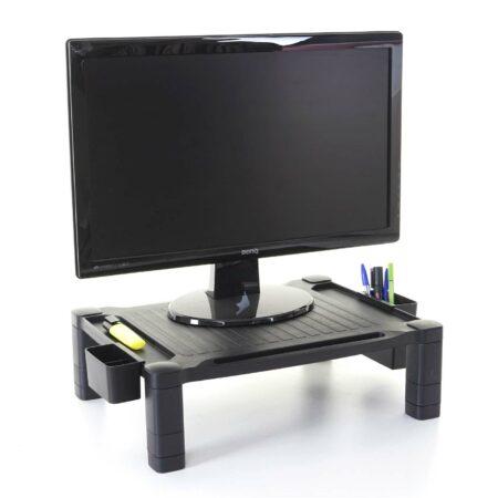 Monitorerhöhung  Monitorständer Bildschirmerhöhung 13x43x33cm