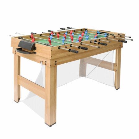 Tischkicker 20 in1 Multiplayer Spieletisch 174x107x60cm Eiche-Optik